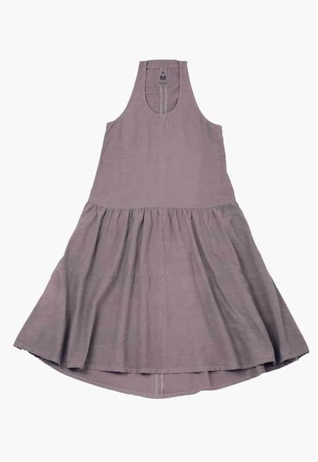 New Market Goods x Cara Marie Piazza Racerback Dress - Charcoal