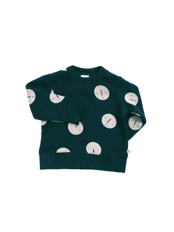 Tinycottons Faces Fleece Sweatshirt
