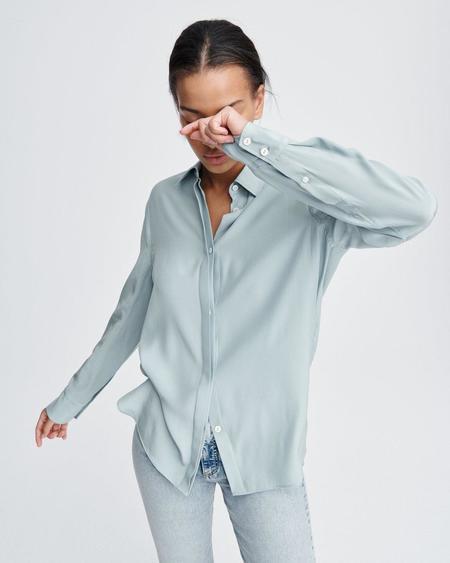 Rag & Bone Anderson shirt - Seafoam Blue