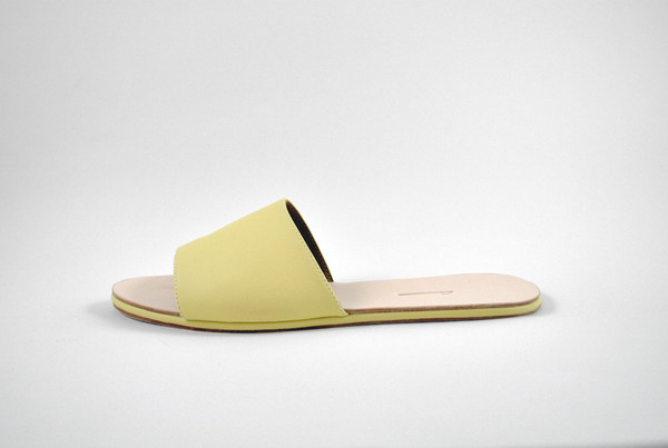 The Palatines Shoes Caelum Slide Sandal - Sun Leather