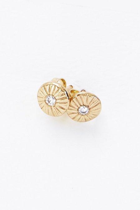 Sarah McGuire Diamond Dot earring