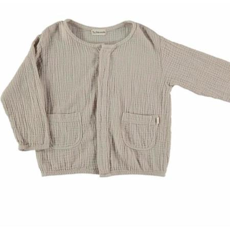 Kids My Little Cozmo Ushi Jacket - Stone