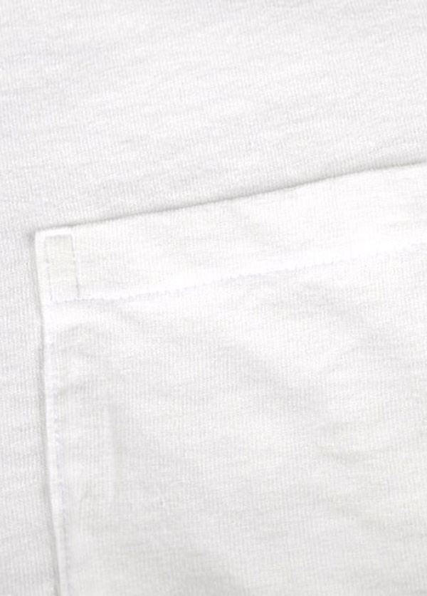 Velva Sheen - Men's Crew Neck Pocket T-Shirt 2-Pack in White
