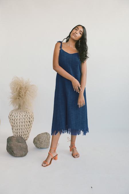 Kordal Aphrodite Dress in Indigo