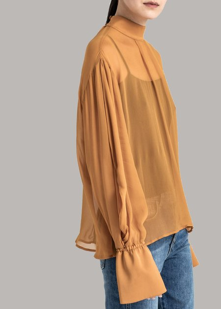 House Of Dagmar Mie Top - Caramel
