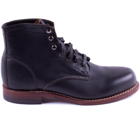 Wolverine 1000 Mile Leather Boot - Black
