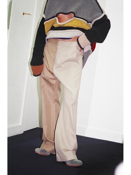 MM6 Maison Margiela Bi-Tonal Trouser