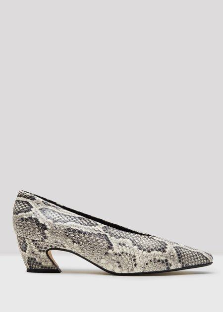 MIISTA Antonine roccia leather heels - snake