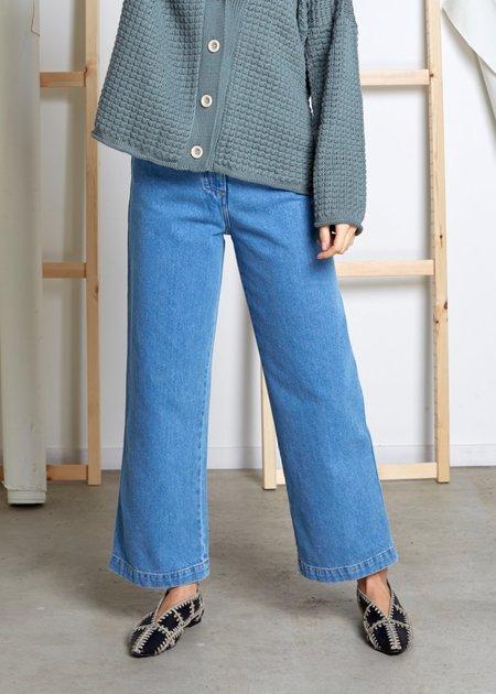NANUSHKA Marfa vintage cut Jean - 90s blue