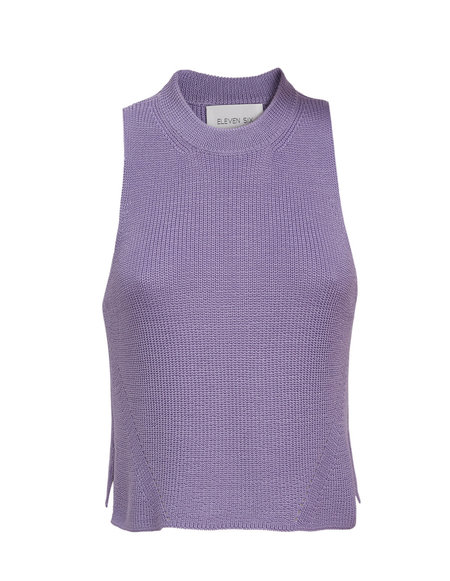 ELEVEN SIX ELLIA SWEATER TANK - AZULENE