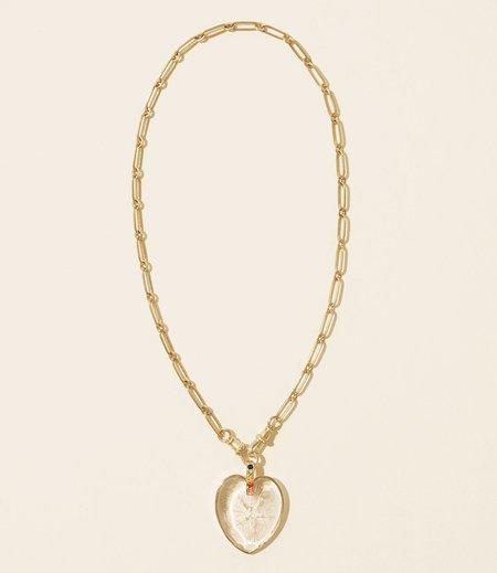 Pascale Monvoisin Gabin N°2 Necklace - 9k gold