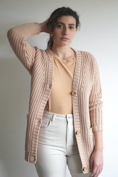 Solosix Elizabeth Cardigan - Rose