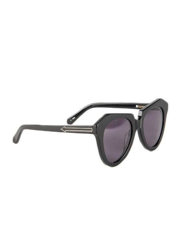 •Karen Walker Eyewear - Number One in Black