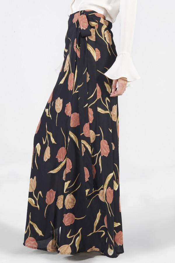 Siena Wrap Skirt - Tulip
