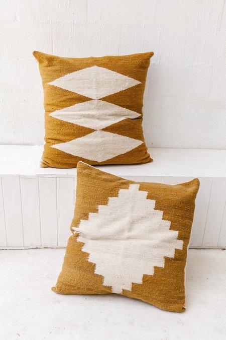 Pampa Puna Floor #3 Cushion - Camel/Natural