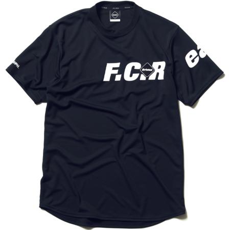 F.C. Real Bristol Straddle Logo S/s Tour Tee - black