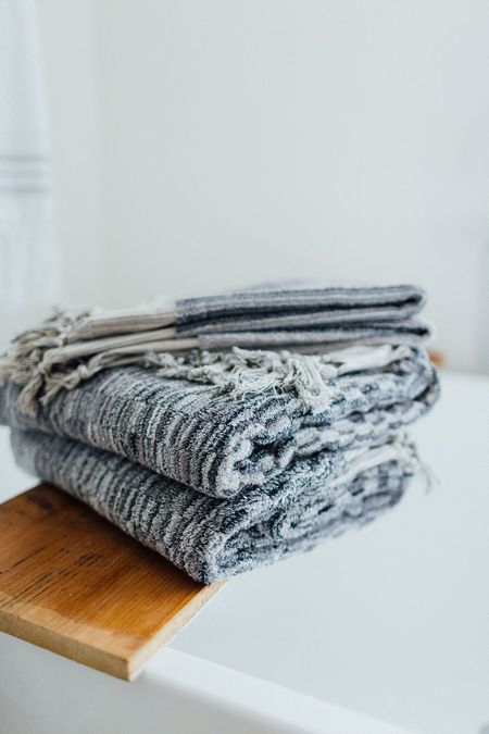 Weft End Bath Towel - Cove Grey