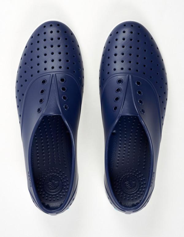 Native Shoes Native Jericho Regatta Blue Shell White