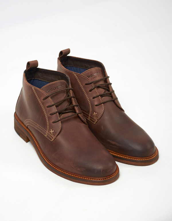 Wolverine 1883 Hensel Desert Boot Dark Brown Leather
