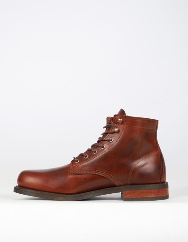"Men's Wolverine 1883 Wolverine 6"" Kilometer Boot Brown Leather"