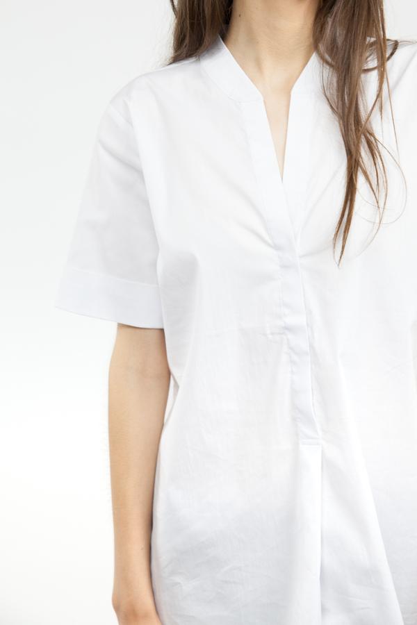 Just Female Hanna Short Sleeve - White