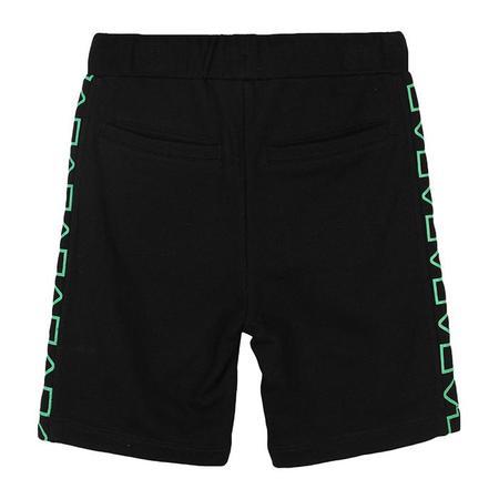 kids Stella McCartney Child Fleece Arrow Print Shorts - Black
