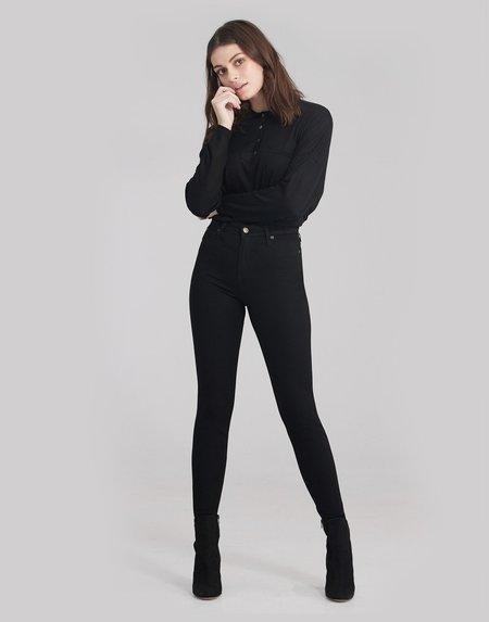 Yoga Jeans RACHEL SKINNY JEANS - BLACK