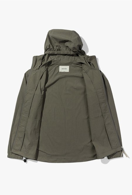 Native North Hooded Paper Jacket - Green