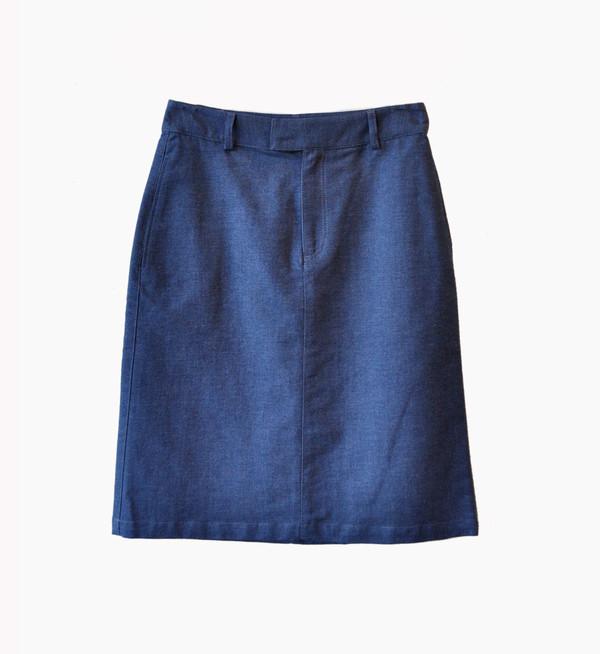 A.P.C. Indigo Jupe Standard Skirt