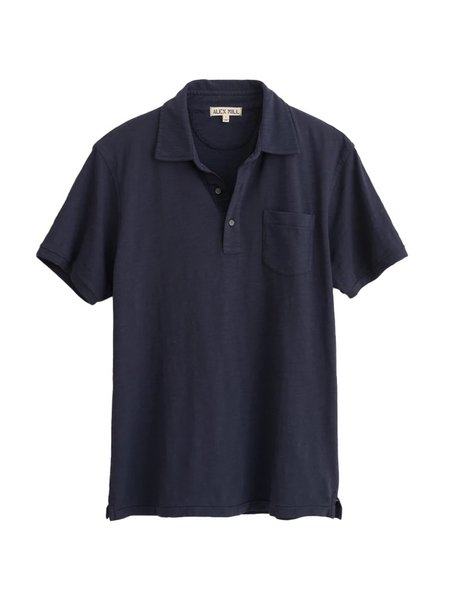 Alex Mill Rugby Polo - Navy