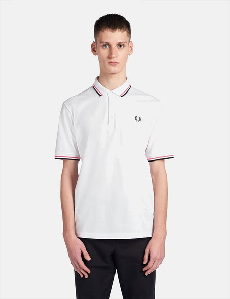 Fred Perry Polo Shirt - White