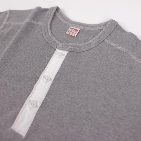 The Real McCoy's & Co. Union Shirt Long Sleeve - Grey