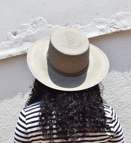 Janessa Leone Silver Sage Magnolia Bolero Hat