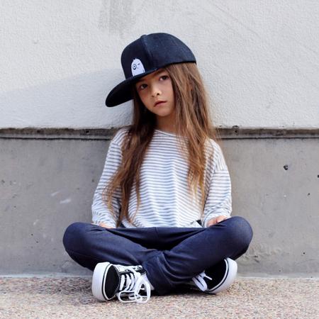 Mini + Me Matching Denim Snapback Hats