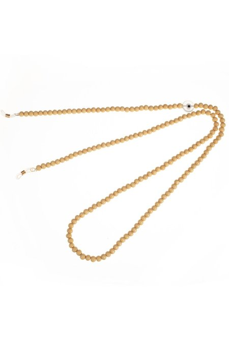 Talis Chains Wood Imitation Bead Sunglass Chain