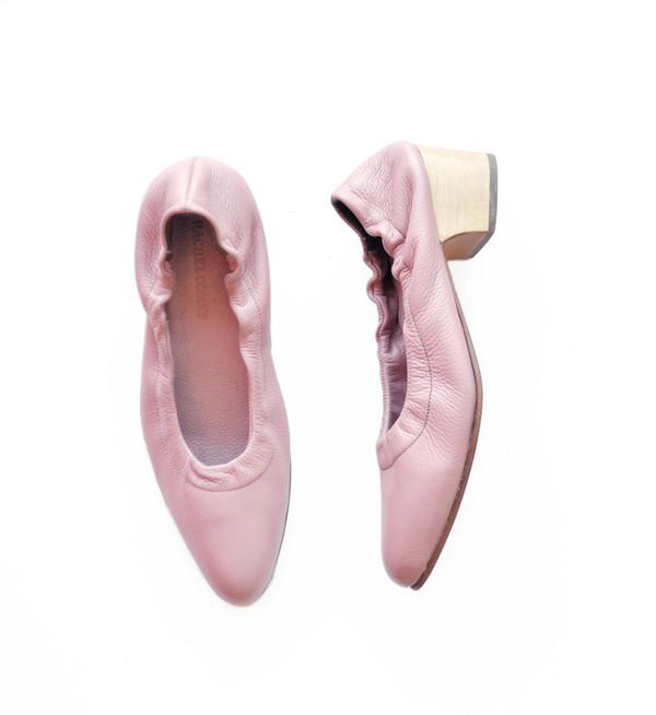 Rachel Comey Mauve Floater Calder Heel