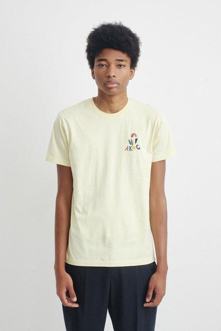 A Kind of Guise Vodun t-shirt - bleached lemon