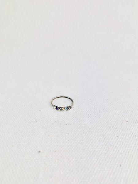 """Kria """"Love"""" in Icelandic Crown Ring - Silver"""