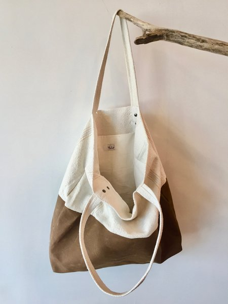 Anderst Linen Waxed Canvas Tote Bag