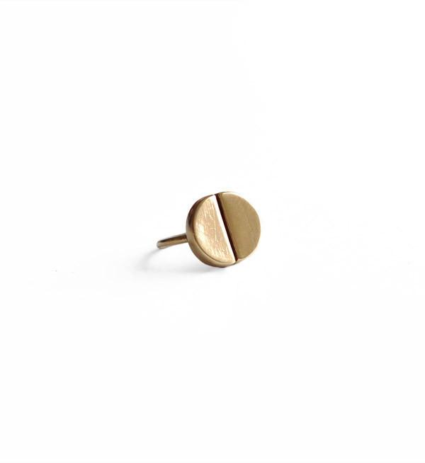 Tiro Tiro Brass Mitosis Ring