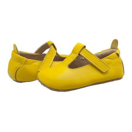 Kids Old Soles Omhe Bub Mary Jane Shoes - Sunflower Yellow