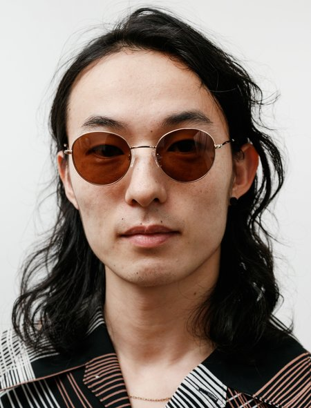 Sun Buddies Ozzy Glasses - Gold Brown