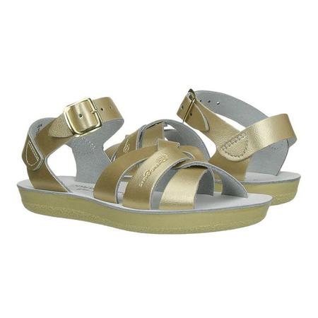 Saltwater Sandals Salt Water Child Swimmer Sandals Gold