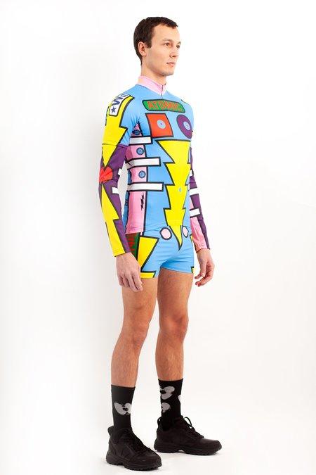Walter Van Beirendonck Radiate Beauty Bike T Shirt W/ Sleeve Inserts