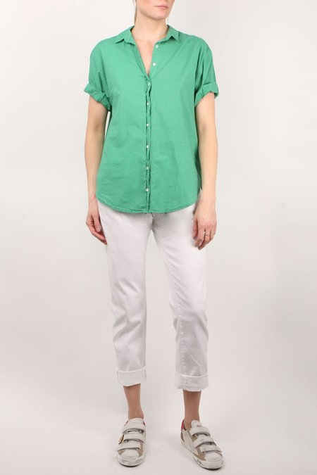 Xirena Channing Palm - Green Shirt
