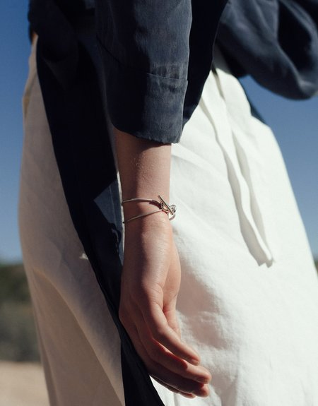 Cled Double Rope Toggle Bracelet