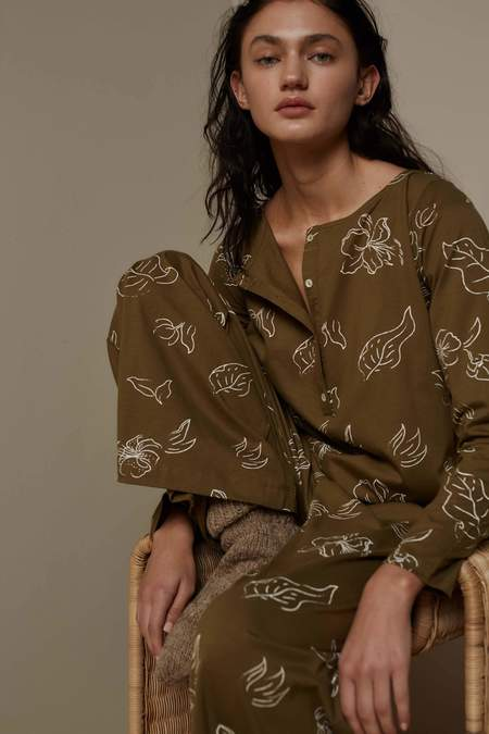 Feather Drum LOUNGE JUMPSUIT - WILD FORAGER