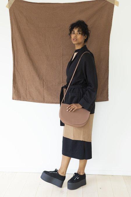 Monk and Anna Half Moon Bag - Brown