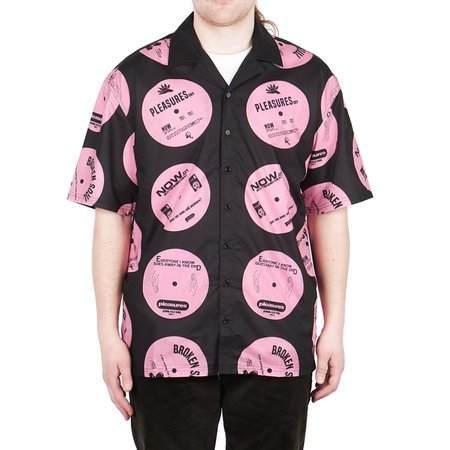 PLEASURES SIDE A BUTTON DOWN - PINK