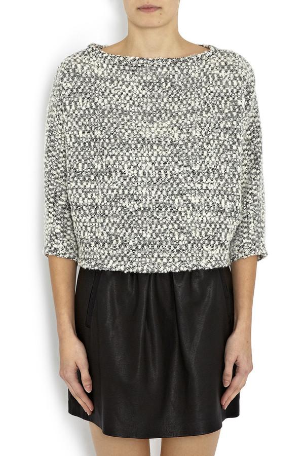 Apiece Apart - Kiki Dolman Sleeve Sweatshirt in Quito Boucle